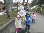 Mateřská škola - loučení se zimou 21.3.