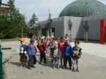 Mateřská škola - výlet na hvězdárnu