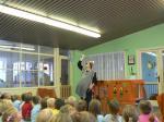 Mateřská škola - na divadle v Hruškách