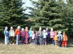 Mateřská škola - vycházka k rybníčku