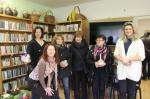 Spolupráce s knihovnou Hostěrádky-Rešov-vánoční výstava