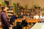 Přednáška v knihovně téma