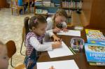Návštěva dětí z MŠ v knihovně