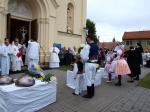 Svěcení zvonů v Šaraticích