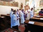 Žehnání Křížové cesty Vážany nad Litavou 2018